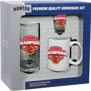Louisville Cardinals 2012 NCAA Basketball National Champions 3 piece