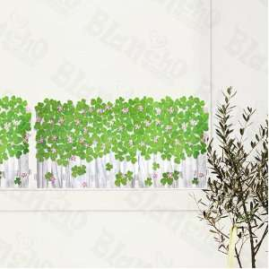 HEMU SH 8071   Green Garden 4   Wall Decals Stickers Appliques Home