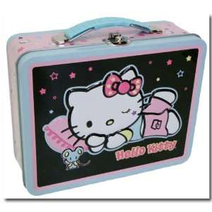 Hello Kitty Sleepytime Tin Lunch Box Toys & Games