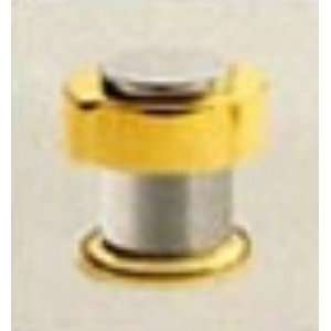 Chrome / Polished Brass Lexington Lexington Knob Handle This is a sin