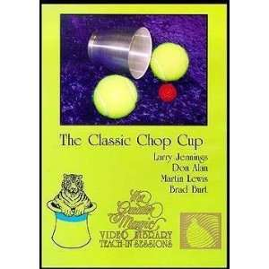 Classic Chop Cup DVD   Instructional Magic Trick D  Toys & Games