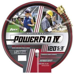 Apex® Powerflo® IV Commercial Garden Hose  120ft  Lawn & Garden