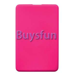 Hot pink Silicone CASE COVER SKIN NEW FOR  Kindle Fire 7 Tablet