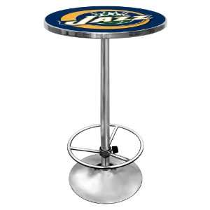 NBA Utah Jazz Chrome Pub Table