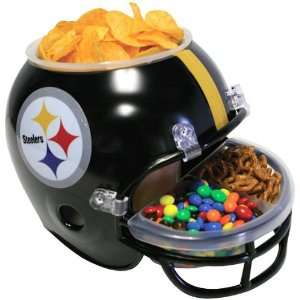 Pittsburgh Steelers   Logo Snack Helmet, NFL Pro Football