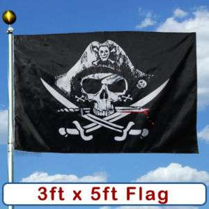 Deadmans Chest Pirate Scull FLAG Sign Banner BIG Large