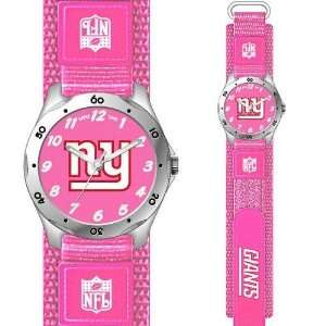 New York Giants NFL Girls Future Star Series Watch (Pink