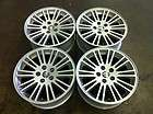 CHRYSLER 300 17 FOUR (4) 05 11 OEM FACTORY ALLOY RIMS WHEELS SILVER