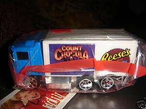 1997 Hot Wheels Semi Truck CoCoa Puffs/Reeses Send In