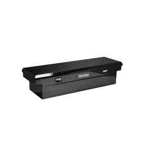 Full Size Black Aluminum Cross Bed Toolbox TALF581BK