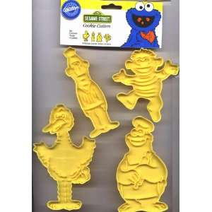 Wilton Sesame Street Cookie Cutters