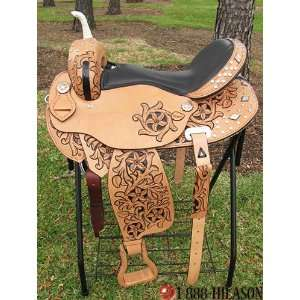 Flex Tree Barrel Racing/ Trail Western Horse Saddle