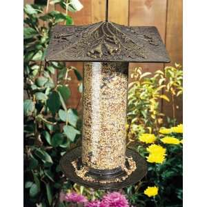 12 Trumpet Vine Tube Bird Feeder Patio, Lawn & Garden