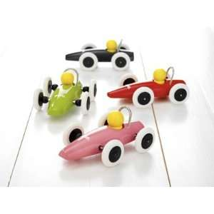 Brio Classic Wooden Car   Orange Toys & Games
