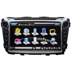 HD Touchscreen Indash DVD GPS Navigation Player Car GPS Radio with PIP
