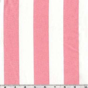 54 Wide Canopy Stripe Baby Pink Fabric By The Yard Arts