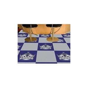 18x18 tiles Los Angeles Kings Team Carpet Tiles Sports
