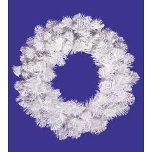 White Spruce Artificial Christmas Wreath   Unlit