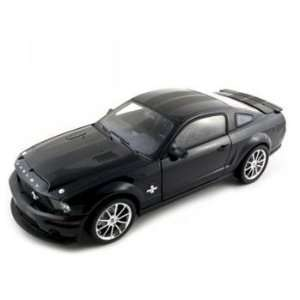 2008 Ford Shelby Gt 500 Kr Black Diecast Car Model 1/18 Toys & Games