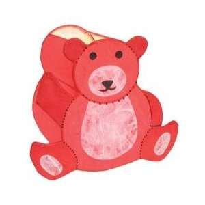 Novelty Lamp   Barry the Bear Lamp in Red   LumiSource   IV TEDDY BEAR