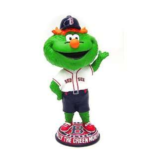 Forever Collectibles 2008 Big Head Bobbers   Wally the Green Monster