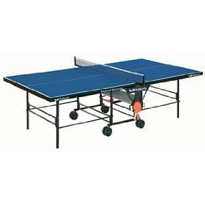 Rollaway Indoor Blue Ping Pong / Table Tennis Table