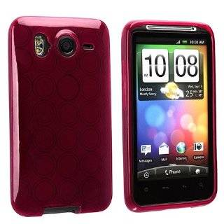 TPU Rubber Skin Case for HTC Desire HD, Clear Frost Smoke