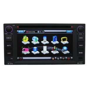 Dash Car DVD GPS Navigation Player with HD Touch Screen Bluetooth RDS