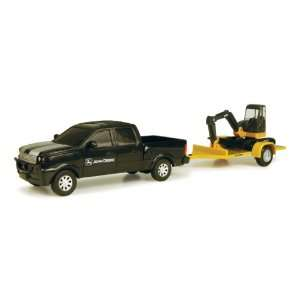 John Deere Pickup Truck with Dozer Toys & Games