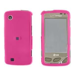 LG VX8575/Chocolate Touch Solid Hot Pink Cover   Faceplate   Case