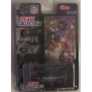 New England Patriots 1999 Fleer/White Rose NFL Diecast GMC