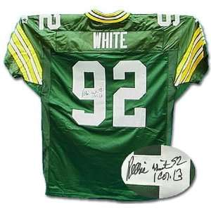 Reggie White Green Bay Packers Autographed Jersey  Sports