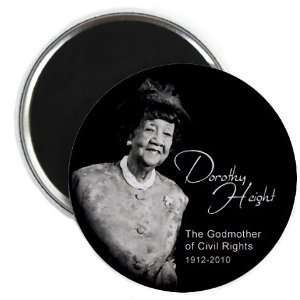 Dorothy Height Black History 2.25 Inch Fridge Magnet