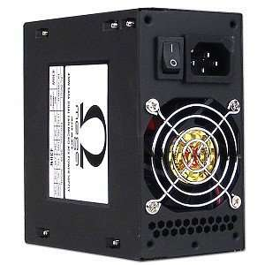 20+4 pin Dual Fan mATX Power Supply with SATA (Black) Electronics