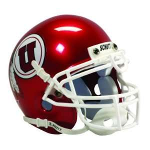 UTAH UTES OFFICIAL FULL SIZE SCHUTT FOOTBALL HELMET