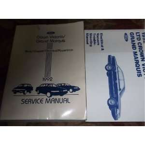Shop Repair Manual SET (service manual, and the electrical & vacuum