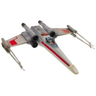 Star Wars X Wing Fighter Vehicle with Luke Skywalker Figure  Toys