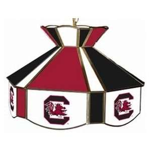 South Carolina Gamecocks Stained Glass Swag Light
