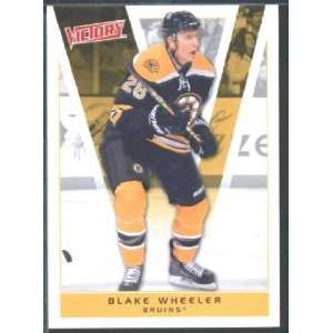 2010/11 Upper Deck Victory Hockey # 17 Blake Wheeler