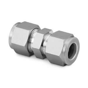 Stainless Steel Swagelok Tube Fitting, Union, 1/2 in. Tube