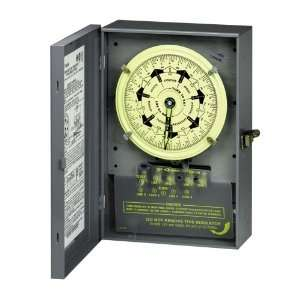 4PST 125 Volt 7 Day Mechanical Time Switch with Nema 1 Indoor Cover