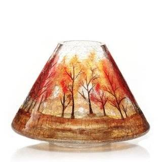 Yankee Candle Hurricane Winter Bird Crackle Votive Holder