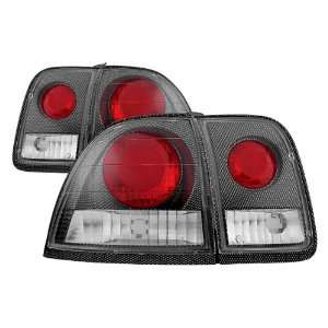 Accord 96 97 Honda Carbon Fiber Euro 2/4DR Tail Lights
