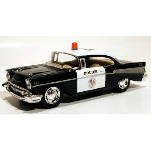 Kinsmart 1/40 1957 Chevy Bel Air Police Car Toys & Games