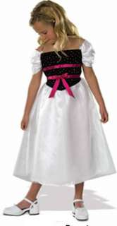 Barbie Birthday Party Girl Costume Dress up NWT 8 10