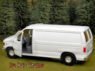 Die Cast Ford Econoline Panel Van O Scale 143 By Metallic Team