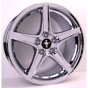 Ford Mustang Saleen Style Wheel Chrome Wheels Rims 1994 1995 1996 1997