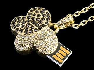 4GB USB Jewel Butterfly Necklace Flash Drive
