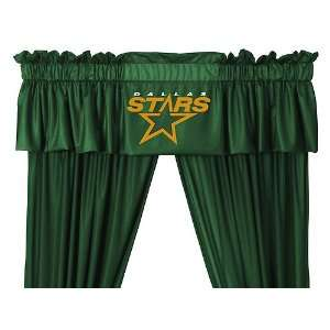 NHL Dallas Stars 5pc Jersey Curtains and Valance Set