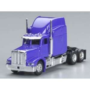 Model Power   1/87 Peterbilt Semi Truck Cab Purple HO (Trains
